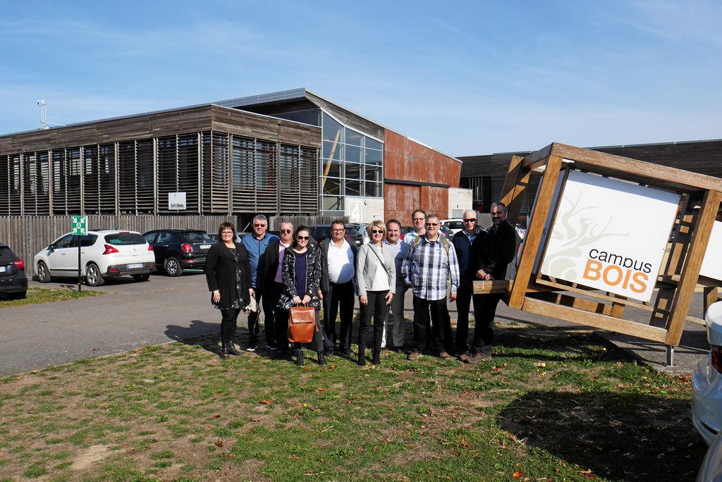 La mission Alliance Bois Saguenay–Lac-Saint-Jean comprend également sept entreprises.