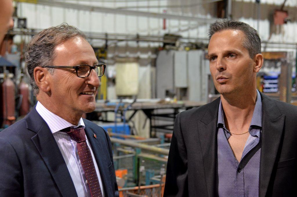 Richard Hébert et Yves Lévesque