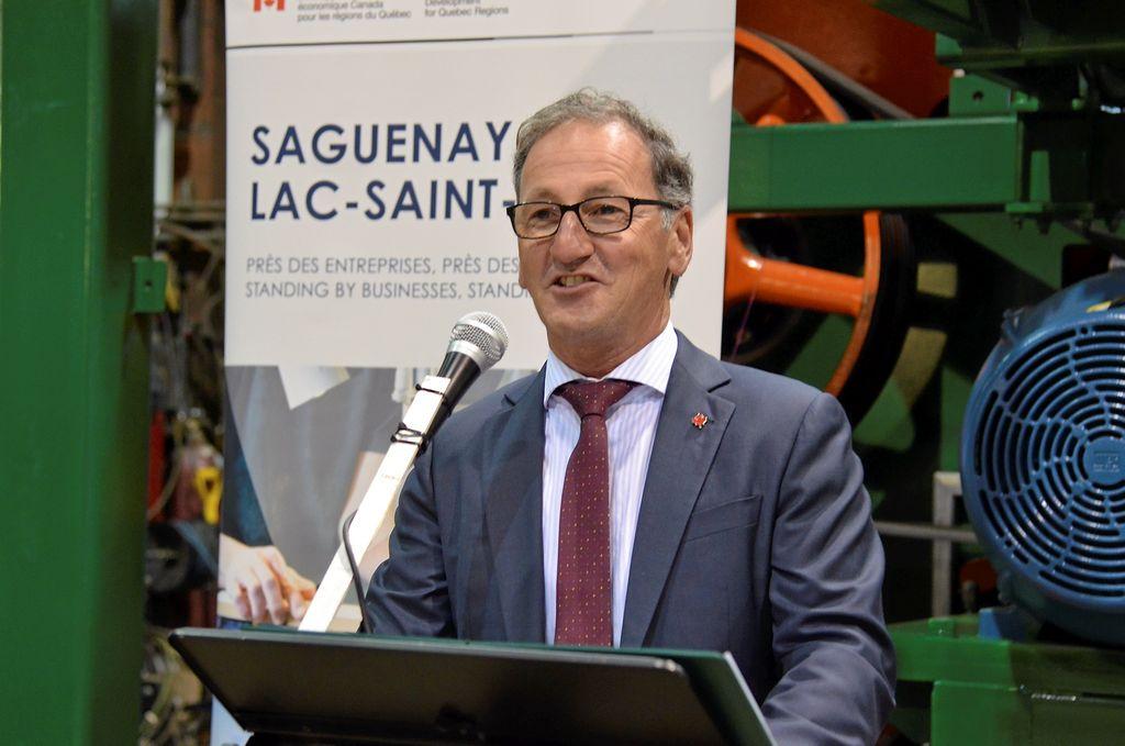 Richard Hébert, député de Lac-Saint-Jean
