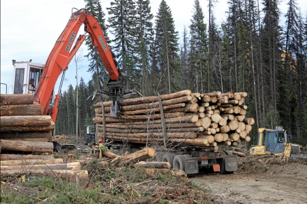 Une prime pour le transport forestier